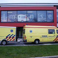 Ambulance aanhangwagen