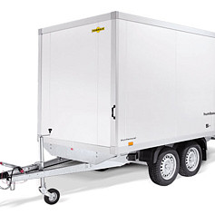 Humbaur HK/HKN 2as dichte plateauwagen, lxb=418 x173/202 cm, 2000/2500/3000/3500kg