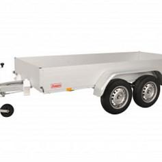 Anssems bakwagen GTT2000O-301 2as geremd 301x126x30cm 2000kg
