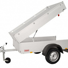 Anssems Bagagewagen GT500-181HT 1as onger. 181x101x48cm/500kg