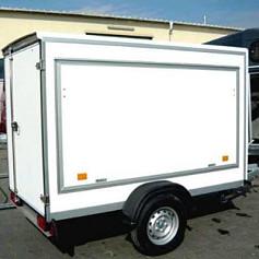 DeBon NewRoadster 255 +Verkoopklep Ply 1as rem 255x125x155cm 1300kg