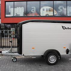 DeBon NewRoadster 255 +Zijdeur Alu 1as rem 255x125x155cm 1300kg