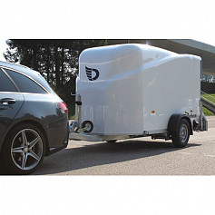 DeBon Cargo 1300 Wit Poly 1as rem 300x155x175cm 1300kg