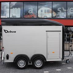 DeBon Roadster 500 +Zijdeur Alu 2as rem 320x167x200cm 2000kg