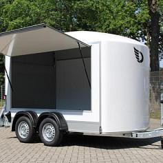 DeBon Roadster 500 Foam +Verkoopklep 2as rem 320x167x200cm 2000kg
