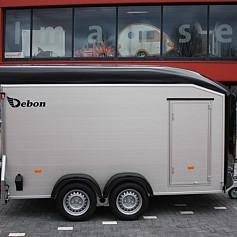 DeBon Roadster 700L Alu +zijdeur 2as rem 378x185x200cm 2600kg