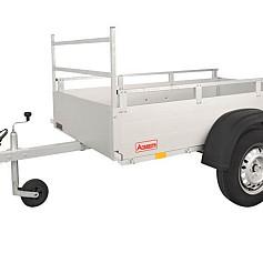 Anssems bakwagen GT750R-201 1as onger. 201x101x30cm 750kg