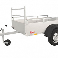 Anssems bakwagen GT750R-211 1 as onger. 211x126x30cm 750kg
