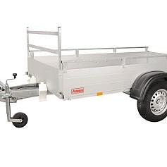 Anssems bakwagen GTB1200R-301 1as rem 301x126x30cm 1200kg