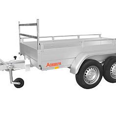 Anssems bakwagen GTT1500R-301 2as geremd 301x126x30cm 1500kg