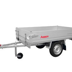 Anssems plateauwagen PLT750 1-as ongeremd 211x132cm/750kg