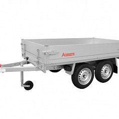 Anssems plateauwagen PLTT750 2-as ongeremd 305x150cm/750kg