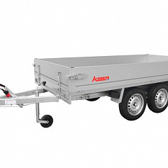 Anssems plateauwagen PLTT1350 2-as geremd 305x150cm/1350kg