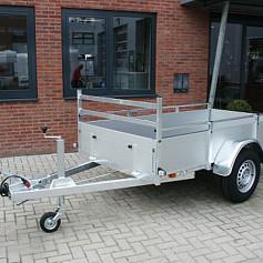 Anssems bakwagen BSX1500 1as geremd 301x150x35cm 1500kg