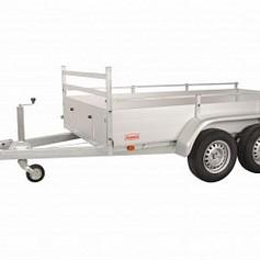 Anssems bakwagen BSX2500 2as geremd 251x130x35cm 2500kg