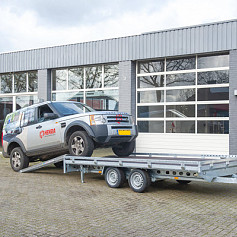 Henra Autotransporter 2as 453x222cm 3500kg