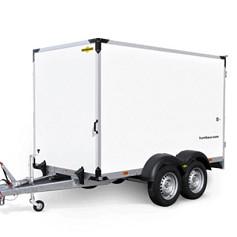Humbaur HK plywood 2as geremd 304x151x180cm 2000/2500kg